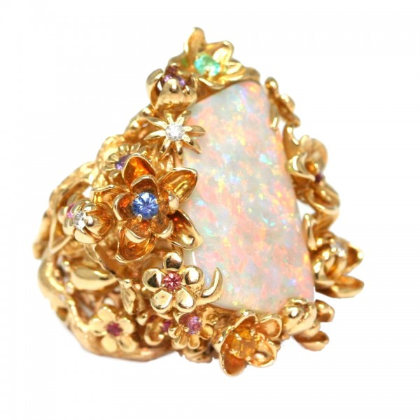 Christian Dior opal ring