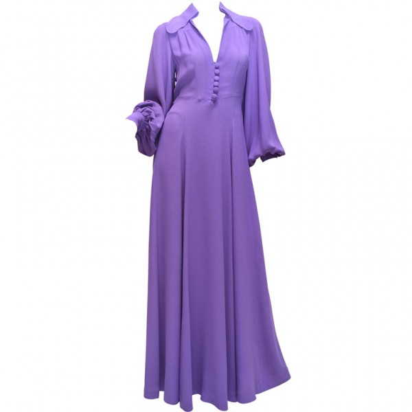 '70s Ossie Clark dress via 1stdibs.com