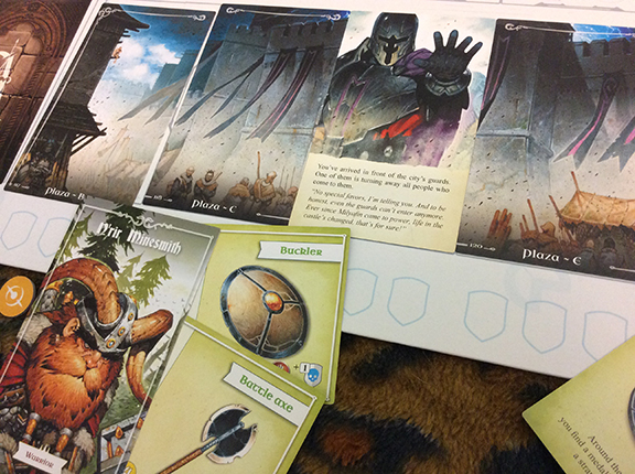 The third scenario adopts a sword-and-sorcery setting.