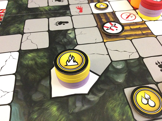 Gold and Purple combined their forces to claim the second Elemental Seal of Power.
