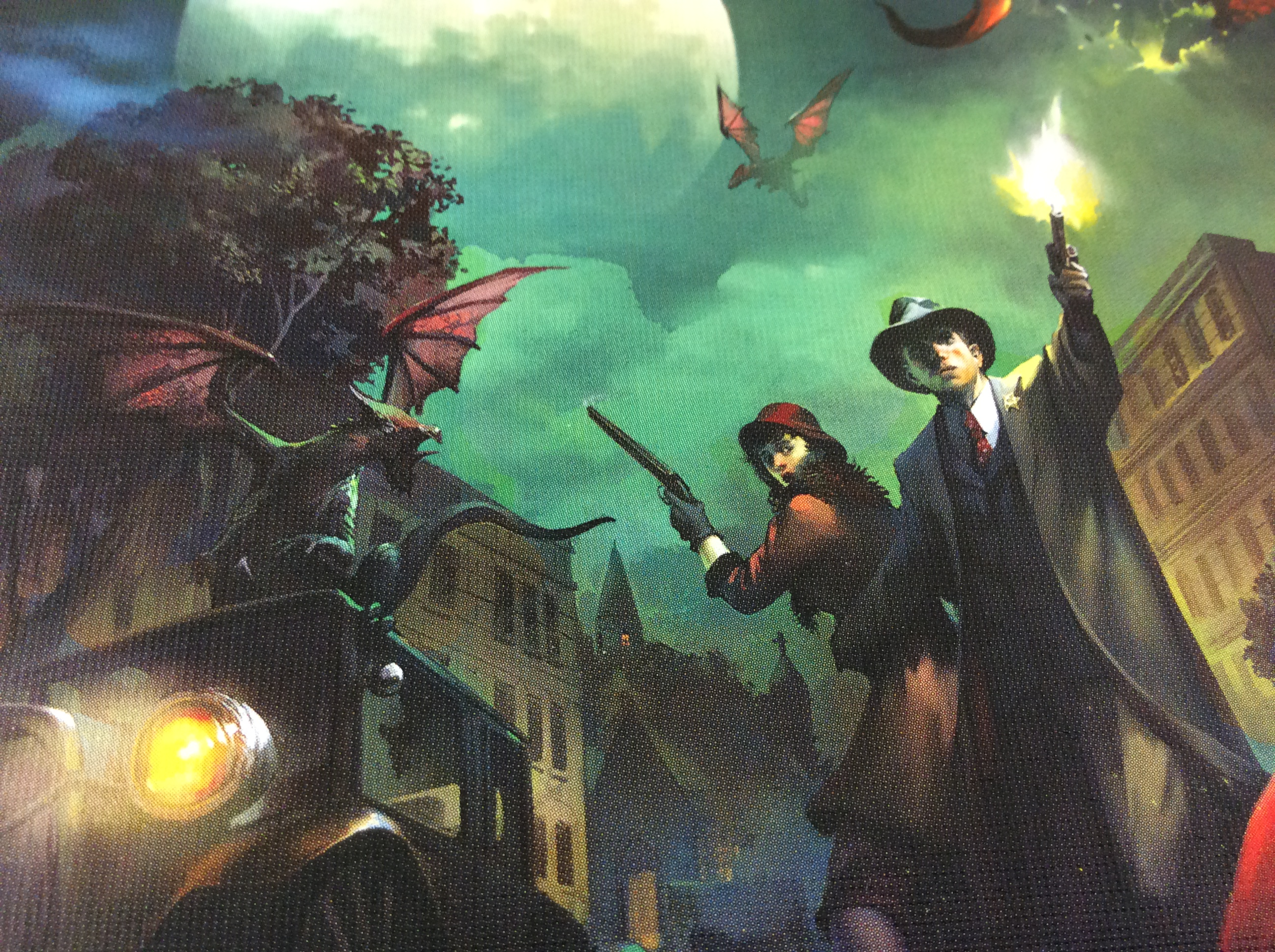 Session Report: Arkham Horror LCG and the New Lovecraftian