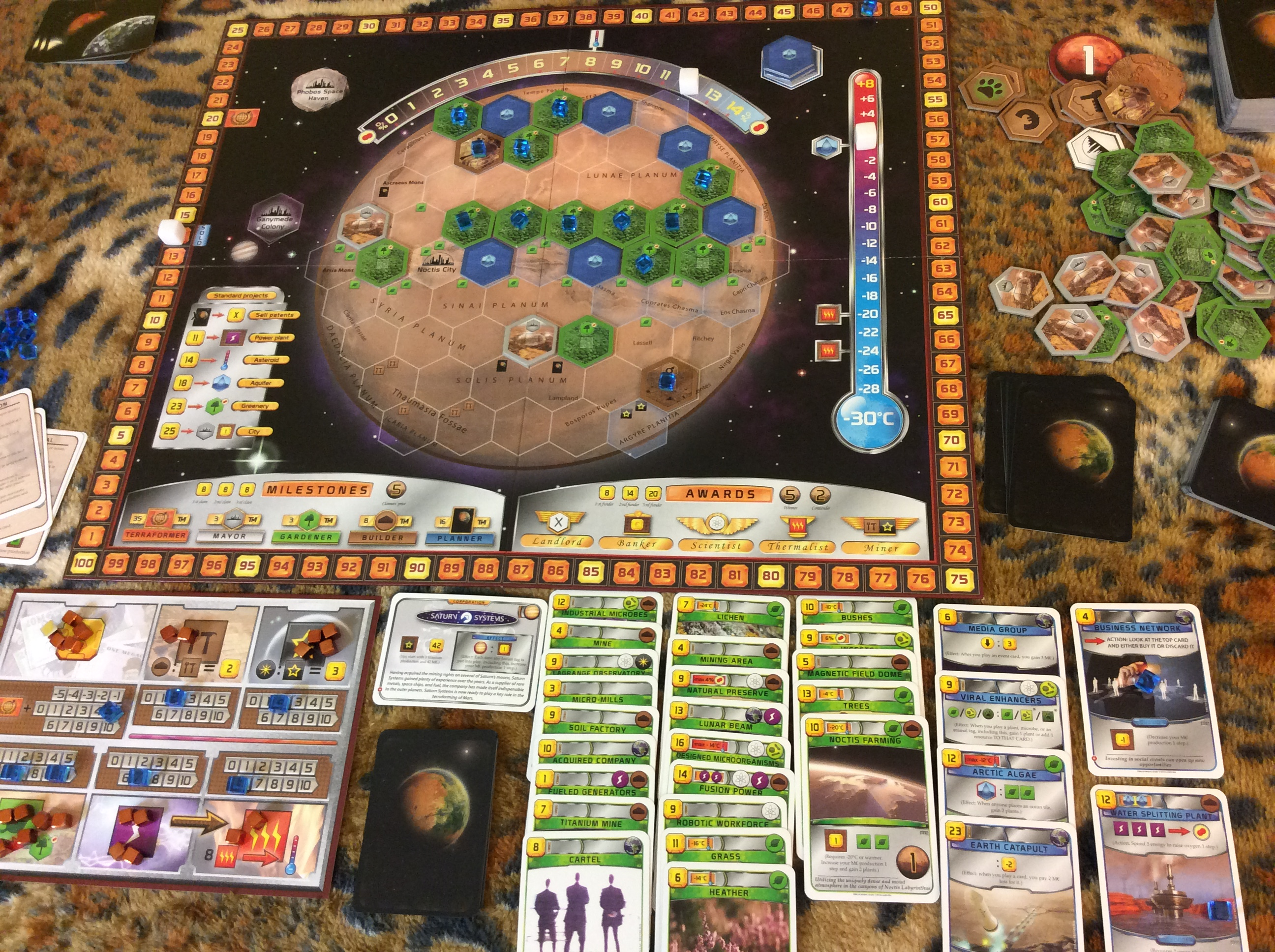 terraforming mars  Session Report: Terraforming Mars and Science – ENTROPY