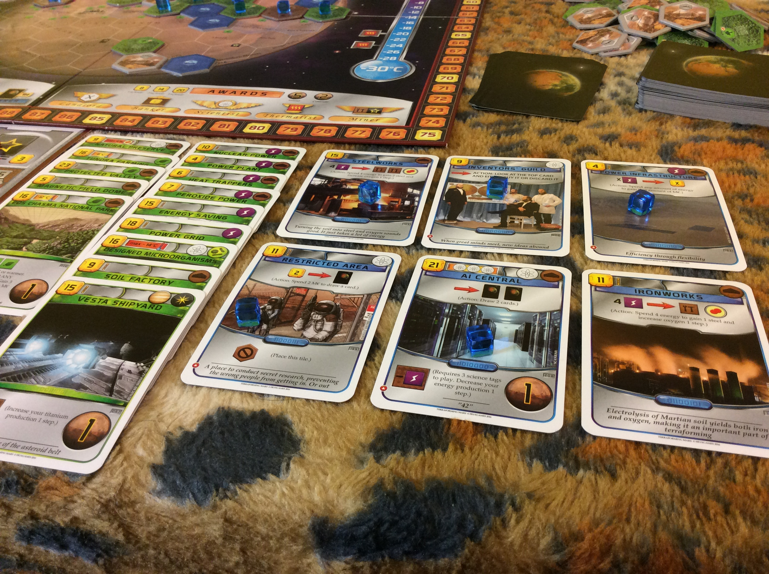 Session Report: Terraforming Mars and Science – ENTROPY