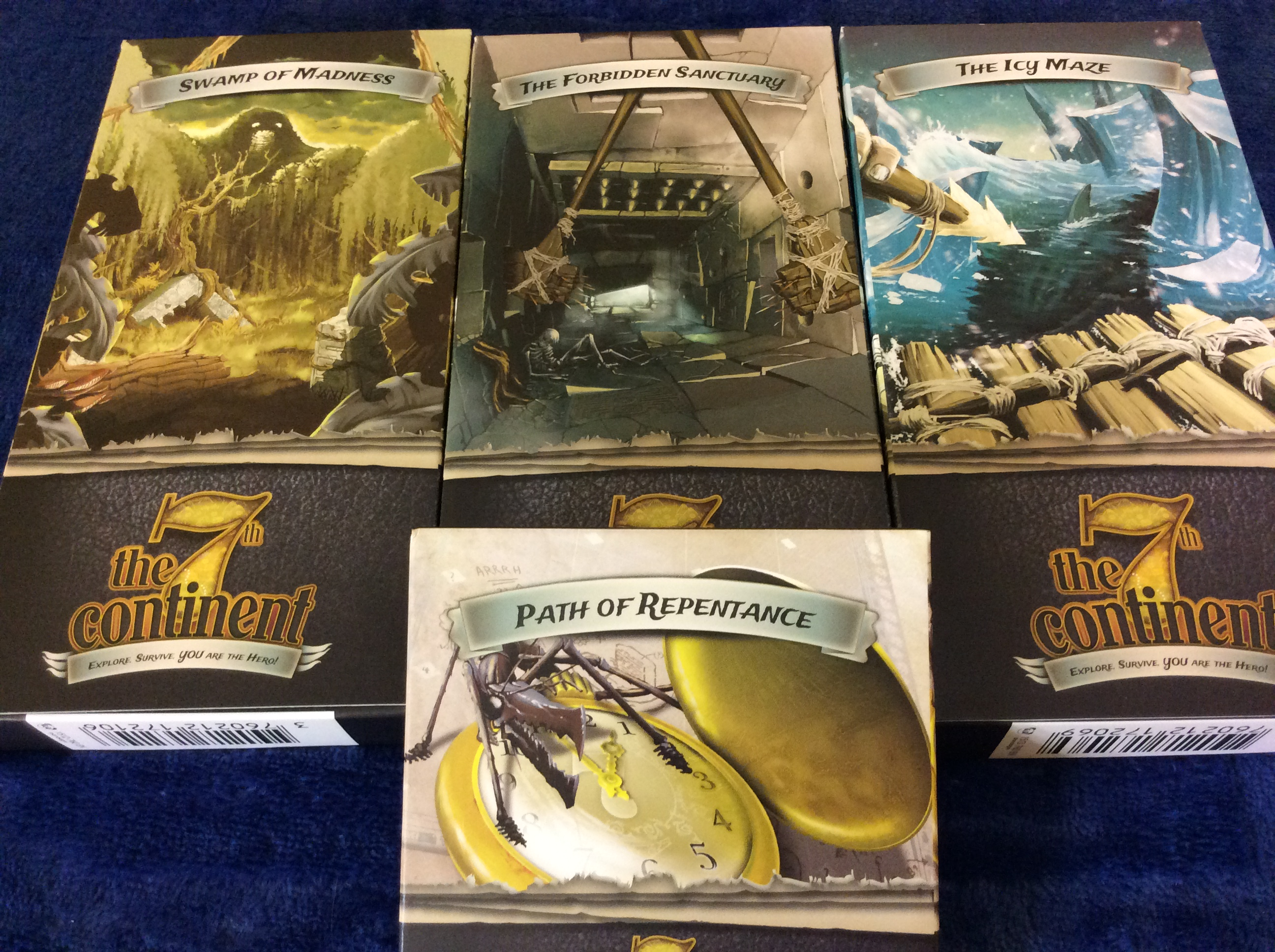 Session Report: The 7th Continent and Spoiler Sensitivity