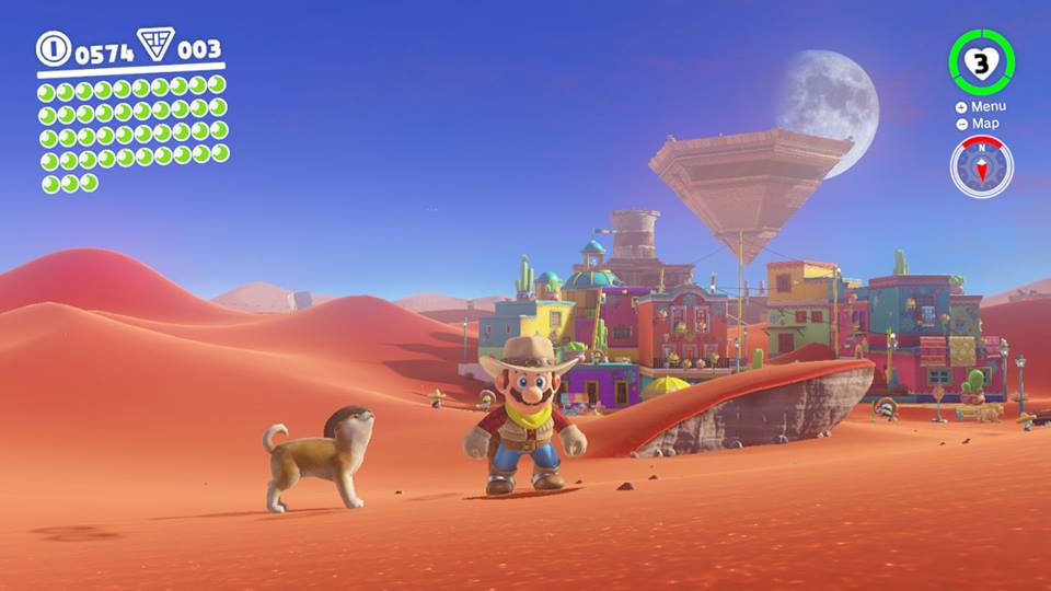 Super Mario Odyssey Is a Surreal Trip Through Gaming's Past