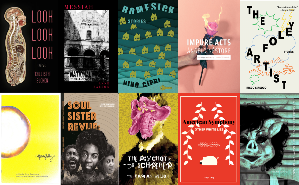 October and November: Small Press Releases